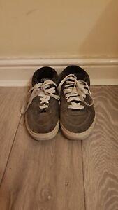 Vans Grey Half Cab Professional Skateboard Shoe Mens Size 9 (US) USED