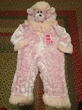 Poodle Pink Dog Puppy Halloween Costume Dress Up Complete Outfit 12-18 Months