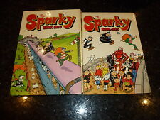 SPARKY Comic Annual - Year 1975 - UK Annual - Price Ticket Intact