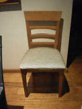 1 X LADDER BACK TIMBER CHAIR