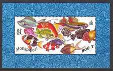 Mongolia 1998 Tropical Fish/Marine Fish m/s ref:n11573a