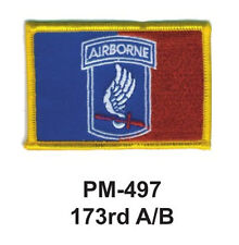 "3""  173RD A/B Embroidered Military Patch"