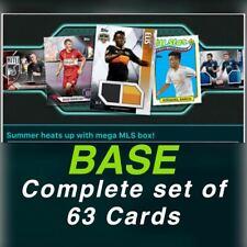 MLS TOPPS 2019 BOX W1 BASE SET OF 63 CARDS Topps Kick Digital Card