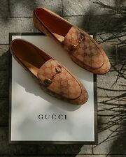 BRAND NEW: 100% AUTHENTIC Gucci Jordaan GG Loafer MEN'S Size 12