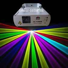 Pro Disco Stage Lighting RGB Full Color Laser Light DJ show Projector nightclub