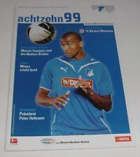 Programm TSG 1899 Hoffenheim - FC Bayern München 21.09.2010 - 1.Liga - 2010/2011