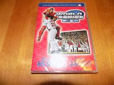 MLB 2004 World Series Boston Red Sox St Louis Cardinals Baseball Sports DVD NEW