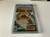 IRON MAN 87 CGC 9.6 WHITE PAGES ORIGIN BLIZZARD MARVEL COMICS 1976