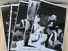 "5 16 x 11"" VTG Busch Stadium St. Louis Cardinals Crowd Laminated Original Photos"