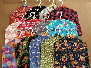 Hanging Clothes Laundry Peg Bag Hand Made Polycotton & Cotton Poplin 40+ Prints