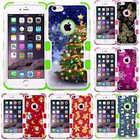 Santa Claus Christmas Tree Phone Case Cover for iPhone 7 PLUS iPhone 8 PLUS
