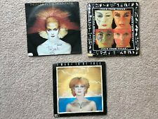 3 Toyah singles - Thunder In The Mountains, Four From Toyah, I Want To Be Free