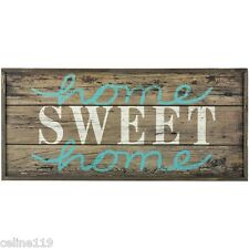 """Large Rustic Wood Sign - """"Home Sweet Home"""" - Birds, Fixer Upper, HGTV 26"""" X 12"""""""