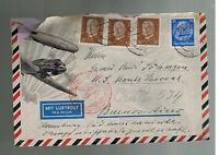 1935 Essen Germany Airmail Cover to Buenos Aires Argentina