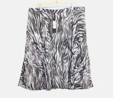 Talbots -  Woman's 18W - NWT$134 - Watercolor Animal Print Pleated Chiffon Skirt