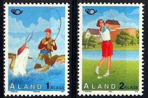 Aland 1995 Nordic Tourism, Sport, Fishing & Golf, MNH / UNM