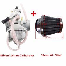 VM22 Mikuni 26mm Carburetor Air Filter 125cc 140cc 150cc Dirt Bike Go Kart QUAD