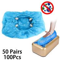 100pcs Non-slip Shoe Cover Disposable Cover for Auto Shoe Cover Machine US SHIP