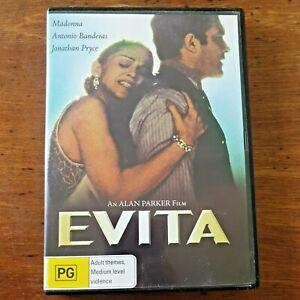 Evita DVD R4 Like New! – FREE POST