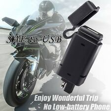 SAE to USB Adapter- Motorcycle Quick Disconnect Plug For Cell Phone Charger 2.1A