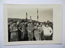 TRIESTE 1929 NATALE DI ROMA vecchia foto fascismo fascisti sindacati
