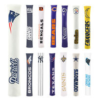 Tour Golf Alignment Stick Covers Quality Leather Cover- Pick Your Team New