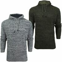 Mens Hoodie Knit Jumper by Brave Soul