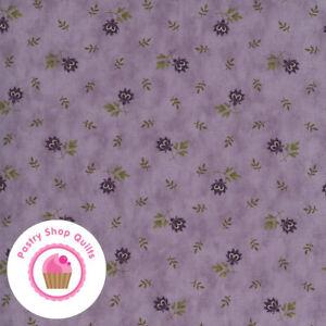Moda MILL CREEK GARDEN 2244 14 Light Purple Lilac Flowers JAN PATEK Quilt Fabric