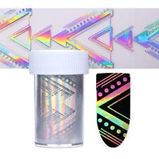 Holographisch Nagelfolie Starry Sky Prüfen Nagelsticker Nail Foils Stickers DIY