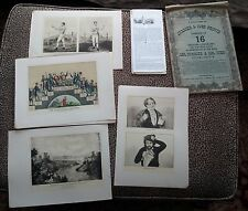 Collection of Currier & Ives Prints Portfolio No 2 - 18 prints in total