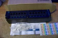 New Ortronics Or-Pmp5E12H High Density Mini Patch Panel W/ 12Port Modules