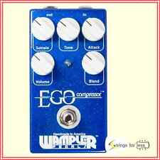Wampler Pedals Ego Compressor Guitar Effect Pedal with Blend and Tone Controls