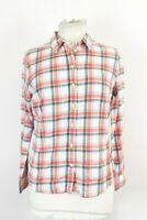 Jack Wills Ladies Check Classic Fit Boyfriend Long Sleeve Shirt UK 10