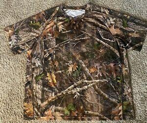 Men's Cabela's Camo Lightweight Performance T-Shirt Kanati True Timber Size 2XL