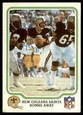 1979 Fleer #33 Archie Manning RARE ODD New Orleans Saints / Ole Miss Rebels