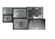 Jack Daniels Tenneessee Honey Logo Airbrush Stencil Template set  a3 a4  6 piece