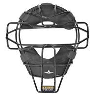 All-Star Baseball and Softball Umpire Mask LUC - FM25UMP: LUC - Black