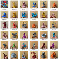 rare D&D Dungeons & Dragons Miniatures Vintage Lot Various Figures Game Toy Gift