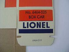 Lionel 6464-525Minneapolis & St.Louis Box Car Licensed Reproduction Box