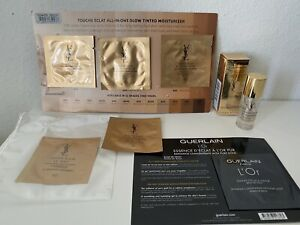 YSL Touche Eclat All-In-One Glow Sunscreen,Foundation,Blur Primer+ Guerlain L'Or