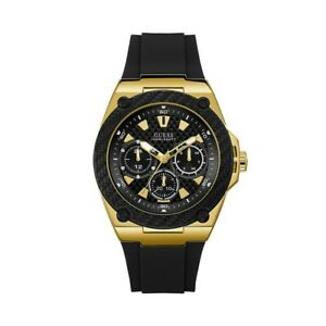 AUTHENTIC GUESS MEN'S RIGOR WATCH Brand New RRP: $349