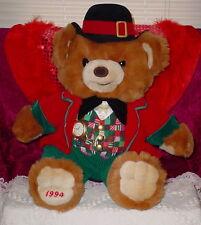 Cinnamon Bear *Wearing Black Hat Red Jacket * So Cute *20 Inches * 1994 *