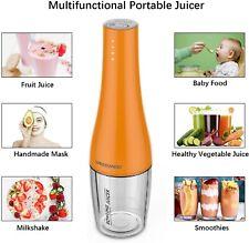 Portable Blender Juicer Smoothie maker Protein Mixer USB Rechargeable Shaker UK