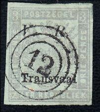 Südafrika, South Afrika, Transvaal, SG 119e dünne Stelle