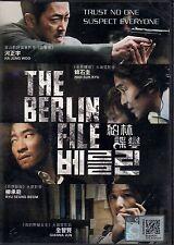 THE BERLIN FILE 베를린 KOREAN MOVIE DVD-NTSC All Region Excellent ENG SUB BOX SET
