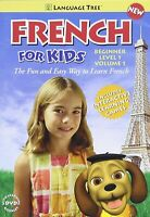 French for Kids Beginner Level 1 Volume 1 Learn French Language lessons DVD