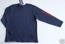 BNWT Boys Osh Kosh Navy Blue Logo Cotton Long Sleeve T-Shirt Top Age 6