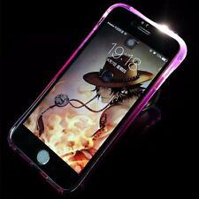 Funda para móvil LUZ LED EN Llamada apple iphone 7 PLUS VIOLETA CARCASA NUEVA