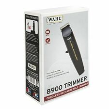 Wahl Professional #8900 Cordless Rechargeable Trimmer, Black, New - Authentic