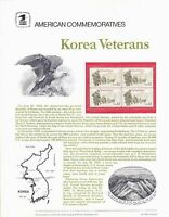 SCOTT # 2152 -  USPS Commemorative Panel #l 246 Korean War Veterans Sheet -  MNH